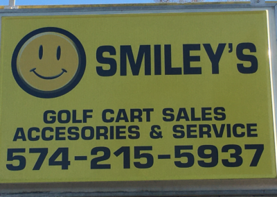 Smileys golf carts and accessories